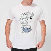 Disney Frozen Elsa Sketch Strong Men's T-Shirt - White - S