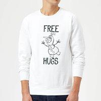 Disney Frozen Olaf Free Hugs Sweatshirt - White - XXL - White