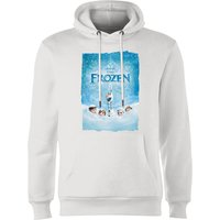 Disney Frozen Snow Poster Hoodie - White - M - White - White Gifts