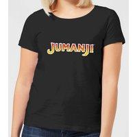 Jumanji Logo Women's T-Shirt - Black - M - Black