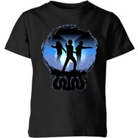 Harry Potter Silhouette Attack Kids' T-Shirt - Black - 9-10 Years - Black