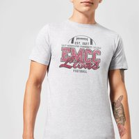 East Mississippi Community College Lions Distressed Men's T-Shirt - Grey - XXL - Grey