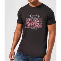 East Mississippi Community College Lions Distressed Men's T-Shirt - Black - XS - Black