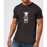 East Mississippi Community College Skull and Logo Mens T-Shirt - Black - XL - Black
