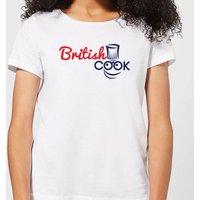British Cook Logo Women's T-Shirt - White - 4XL - White