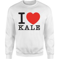 I Heart Kale Sweatshirt - White - S - White