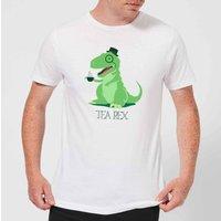 Tea Rex Men's T-Shirt - White - XXL - White - Tea Gifts