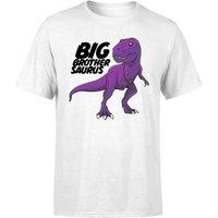 Im A Big Brothersaurus Mens T-Shirt - White - 3XL - White