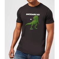 Bantersaurus Rex Mens T-Shirt - Black - L - Black