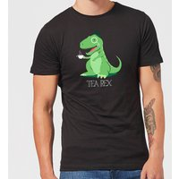Tea Rex Men's T-Shirt - Black - XXL - Black - Tea Gifts