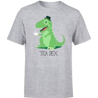 Tea Rex Men's T-Shirt - Grey - XXL - Grey - Tea Gifts