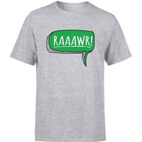 Raaawr Men's T-Shirt - Grey - 4XL - Grey