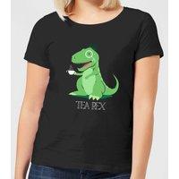 Tea Rex Women's T-Shirt - Black - XXL - Black - Tea Gifts