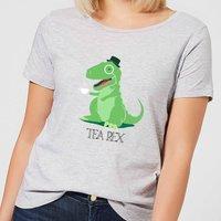 Tea Rex Women's T-Shirt - Grey - XXL - Grey - Tea Gifts