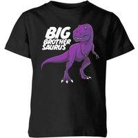 Im A Big Brothersaurus Kids' T-Shirt - Black - 9-10 Years - Black