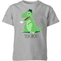 Tea Rex Kids' T-Shirt - Grey - 3-4 Years - Grey - Tea Gifts