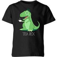 Tea Rex Kids' T-Shirt - Black - 3-4 Years - Black