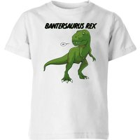 Bantersaurus Rex Kids' T-Shirt - White - 11-12 Years - White - Kids Gifts
