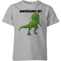 Bantersaurus Rex Kids' T-Shirt - Grey - 11-12 Years - Grey - Kids Gifts