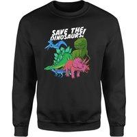 Save The Dinosaurs Sweatshirt - Black - M - Black