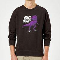 Im A Big Brothersaurus Sweatshirt - Black - XL - Black