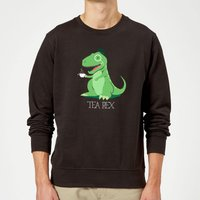 Tea Rex Sweatshirt - Black - XL - Black