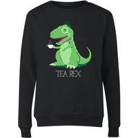 Tea Rex Women's Sweatshirt - Black - M - Black