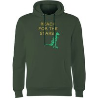 Reach For The Stars Hoodie - Forest Green - M - Forest Green - Green Gifts