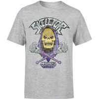 He-Man Skeletor Distressed Men's T-Shirt - Grey - 3XL - Grey