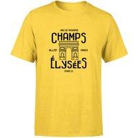 Champs Elysees Winner Men's T-Shirt - Yellow - XL - Yellow