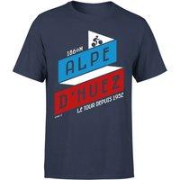 ALPE D'HUEZ Men's T-Shirt - Navy - M
