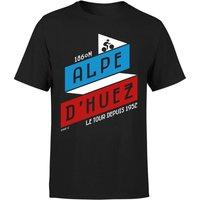 ALPE D'HUEZ Men's T-Shirt - Black - XL