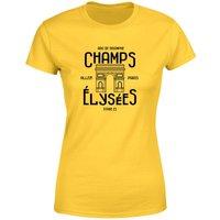 Champs Elysees Winner Women's T-Shirt - Yellow - L - Yellow