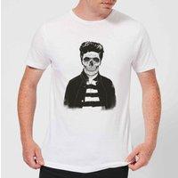 Balazs Solti Cool Skull Mens T-Shirt - White - XXL - White