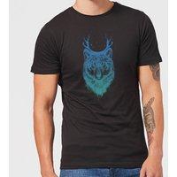 Balazs Solti Wolf Mens T-Shirt - Black - XL - Black