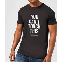 Balazs Solti Cant Touch This Mens T-Shirt - Black - XXL - Black