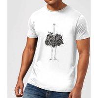 Balazs Solti Ostrich Men's T-Shirt - White - S - White