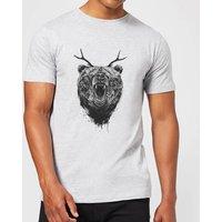 Balazs Solti Dear Bear Men's T-Shirt - Grey - M - Grey