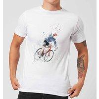 Balazs Solti Cycler Men's T-Shirt - White - XS - White
