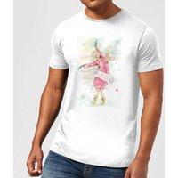 Balazs Solti Dancing Queen Mens T-Shirt - White - L - White