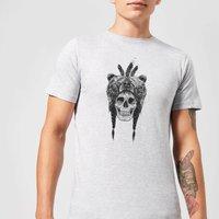 Balazs Solti Bear Head Men's T-Shirt - Grey - S - Grey