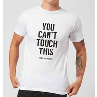 Balazs Solti Can't Touch This Men's T-Shirt - White - 5XL - White