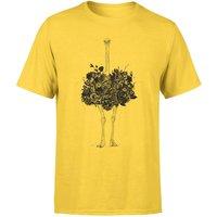 Balazs Solti Ostrich Men's T-Shirt - Yellow - L - Yellow