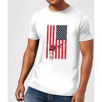 Balazs Solti USA Cage Mens T-Shirt - White - XL - White