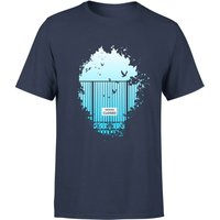 Balazs Solti Heavens Closed Men's T-Shirt - Navy - XXL - Navy - Navy Gifts