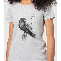 Balazs Solti Birds Flying Women's T-Shirt - Grey - XL - Grey
