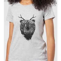 Balazs Solti Dear Bear Women's T-Shirt - Grey - 3XL - Grey
