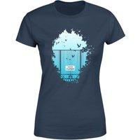 Balazs Solti Heavens Closed Women's T-Shirt - Navy - XXL - Navy - Navy Gifts