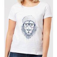 Balazs Solti Lion Women's T-Shirt - White - 3XL - White