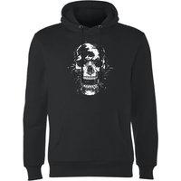 Balazs Solti Skull Hoodie - Black - M - Black - Hoodie Gifts